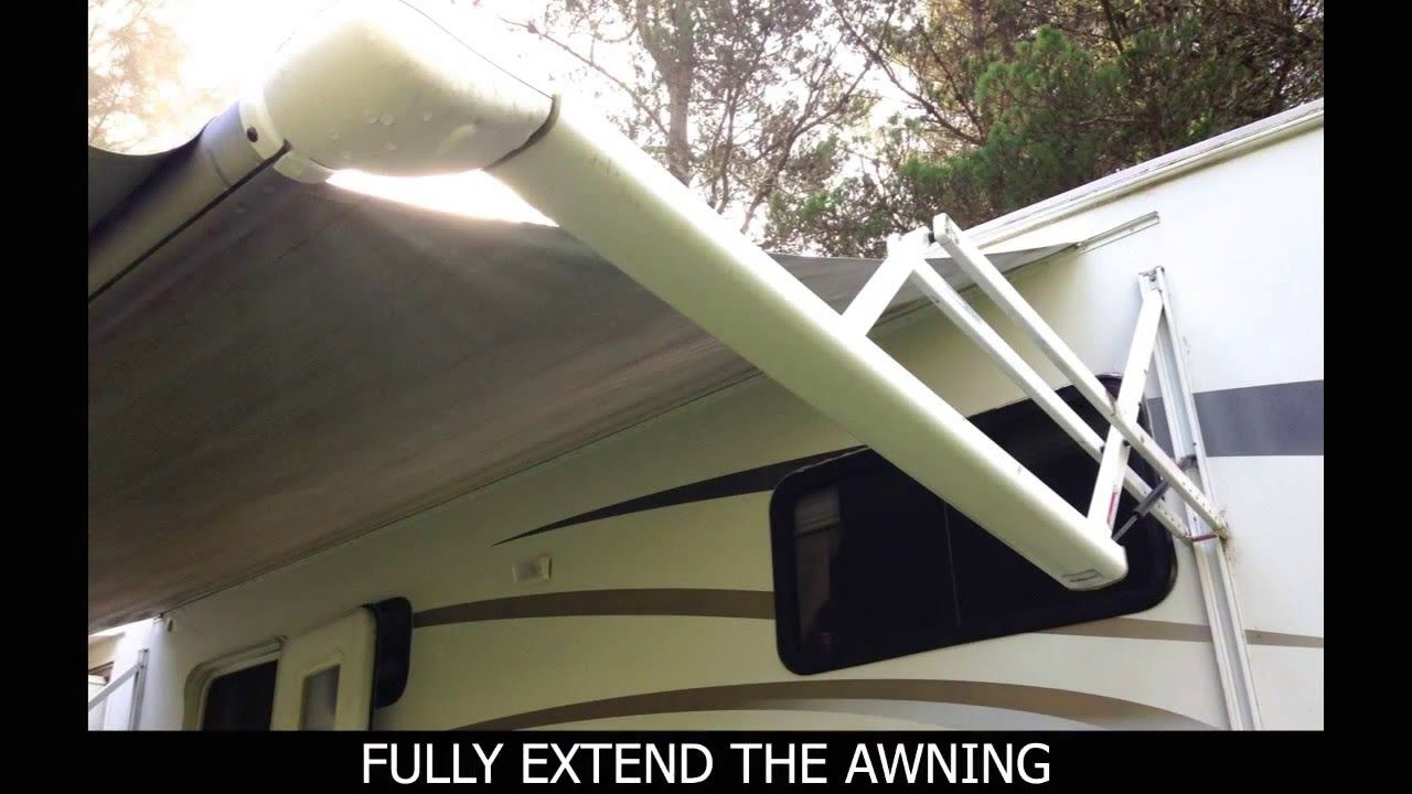 How To Replace An Electric Awning Fabric Electric Awning Awning Electricity