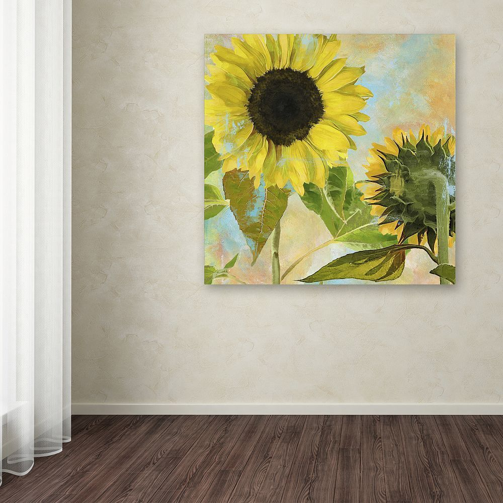 Trademark Fine Art Soleil I Canvas Wall Art, Yellow | Canvases and ...