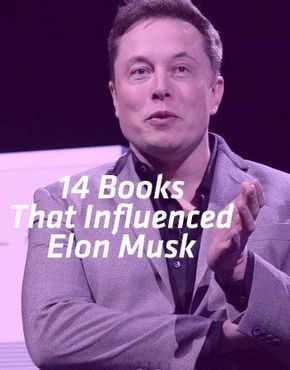 14 Books That Influenced Elon Musk | Books | Pinterest | Libros, Lectura and Audiolibros
