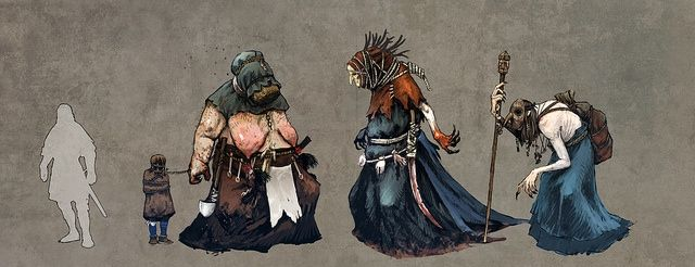 the witcher 3   The Witcher 3 Concept Art Depicts Baba Yaga and Other Mythical ...