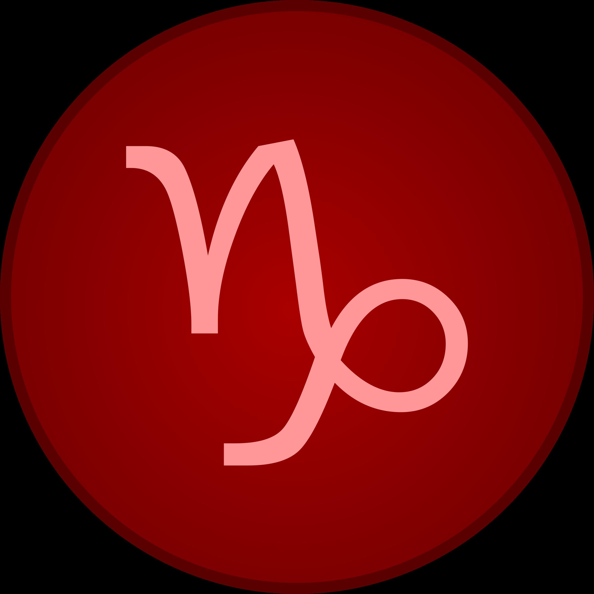 Capricorn symbol by Firkin