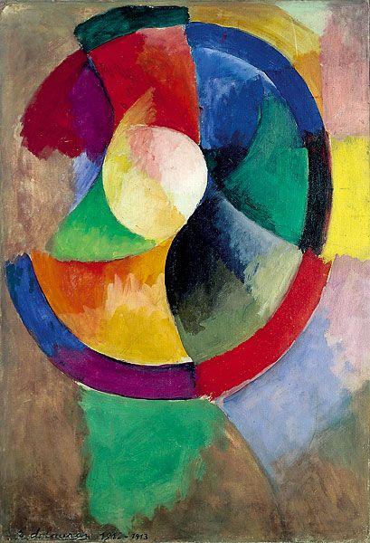 Formes circulaires, Soleil n°2, Robert Delaunay