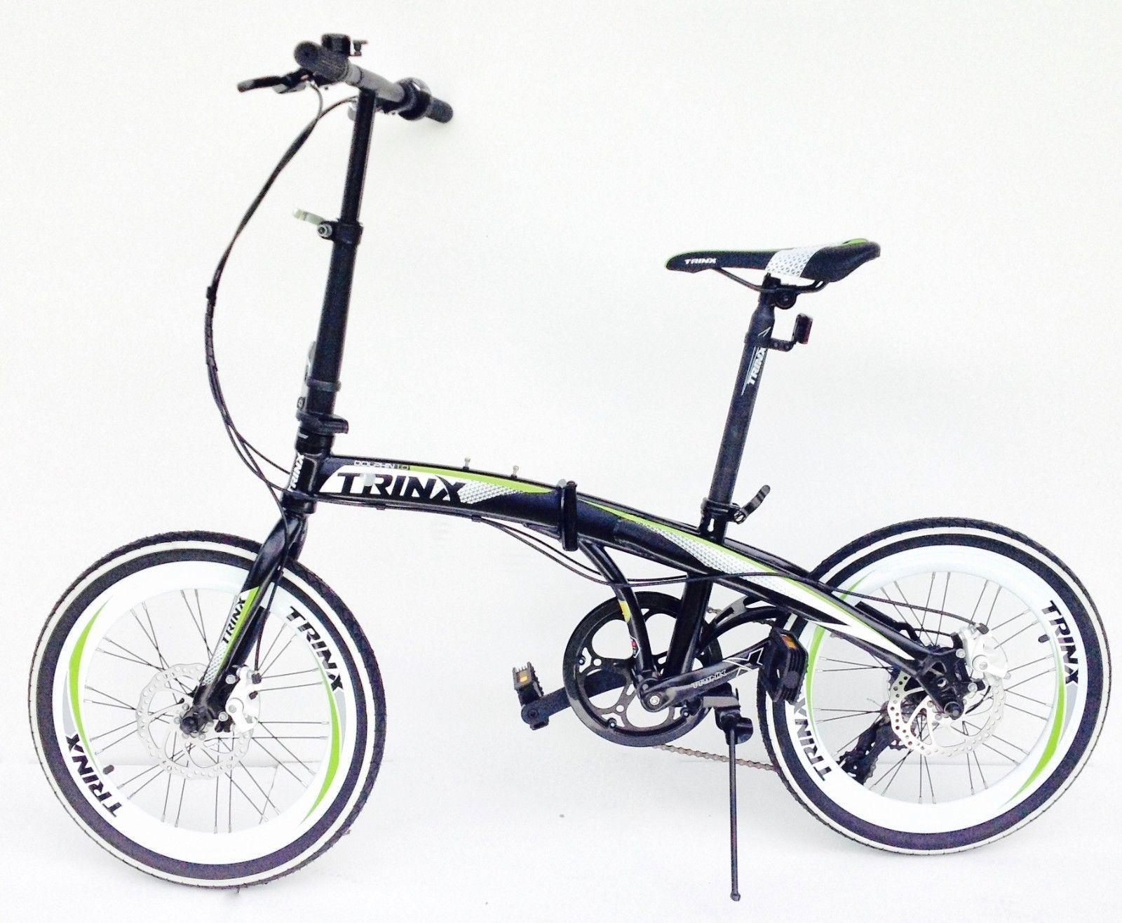 Details About Trinx Folding Bike 20 Inch Wheels 7 Speed Shimano