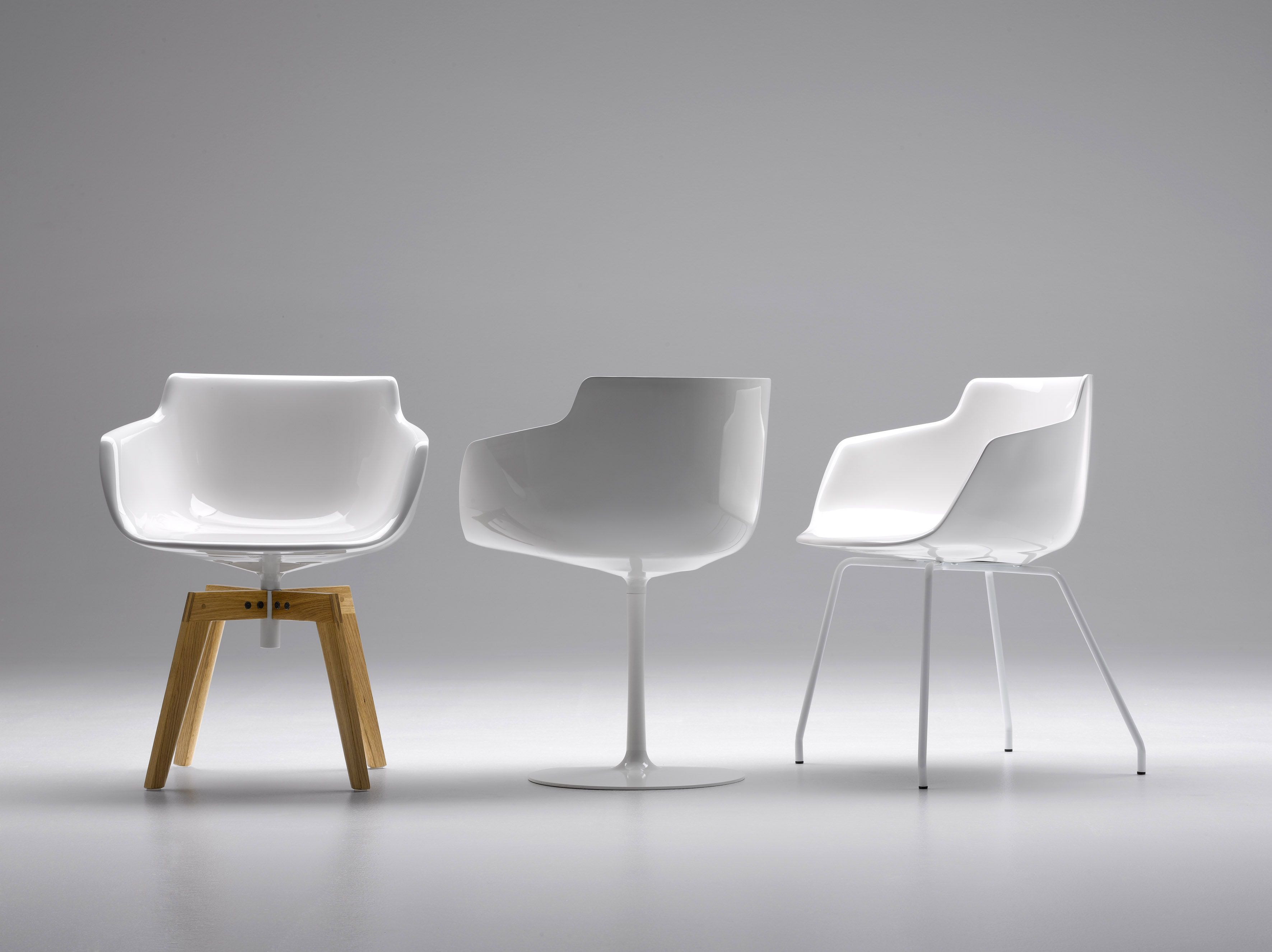 Flow chair by mdf italia design jean marie massaud have a sit
