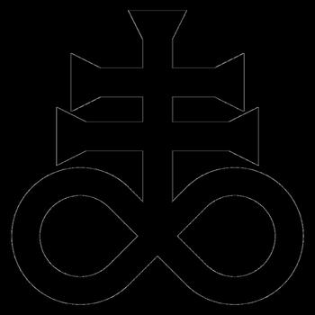 Leviathan Cross By Satans Comrade Satanic Art Occult Art Art