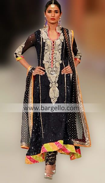Lakme Fashion Week Dresses Online Keynsham Avon UK, Indian Fashion Week Dresses Bristol Avon UK D3923 Evening Wear