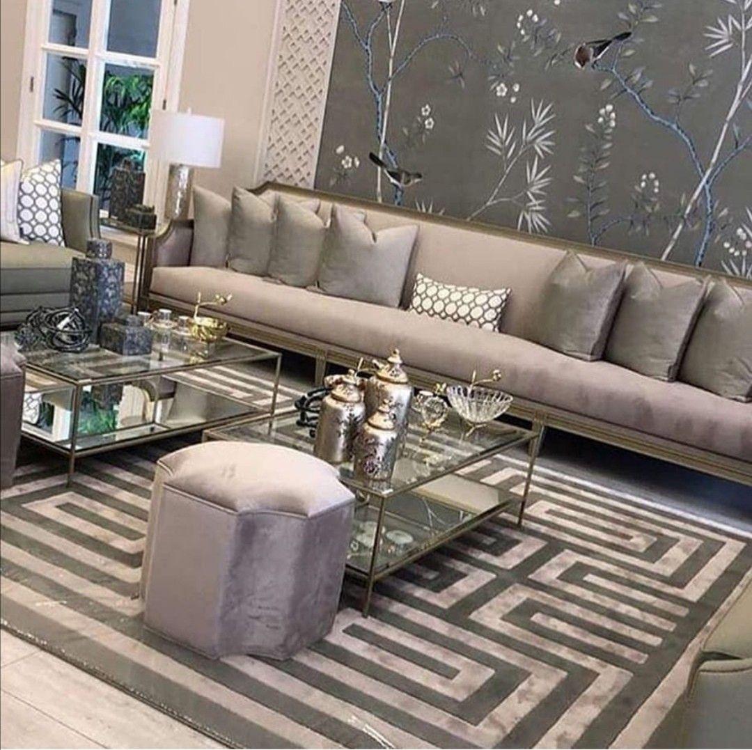 Pin By Sh3olah On صالات استقبال Living Room Design Decor Living Room Decor Apartment Luxury Dining Room