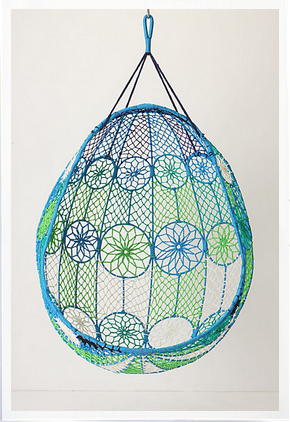 All the hanging chairs a girl could ever want! I especially love this one from (of course) Anthropologie.