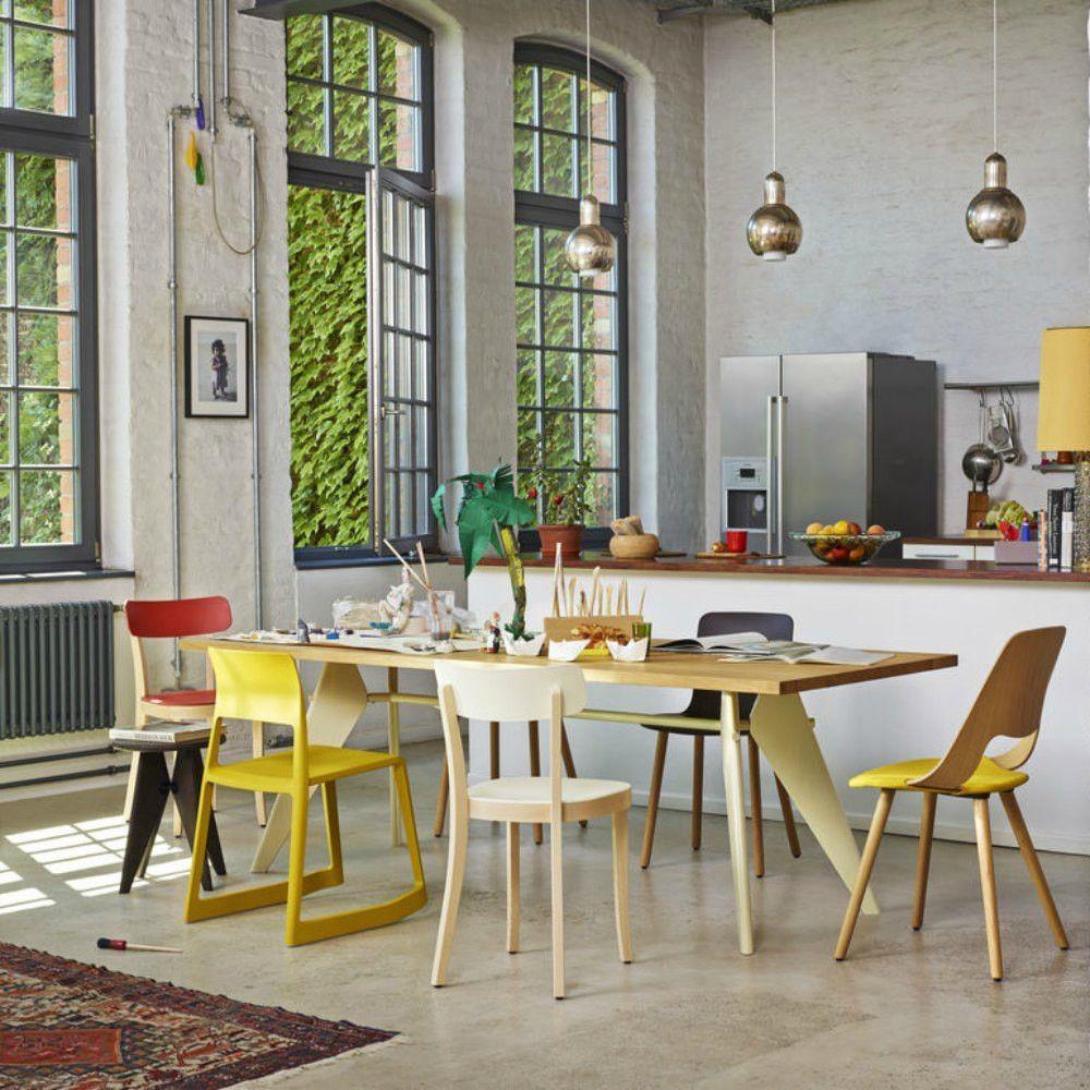 prouve em table dream home pinterest woods natural and interiors. Black Bedroom Furniture Sets. Home Design Ideas