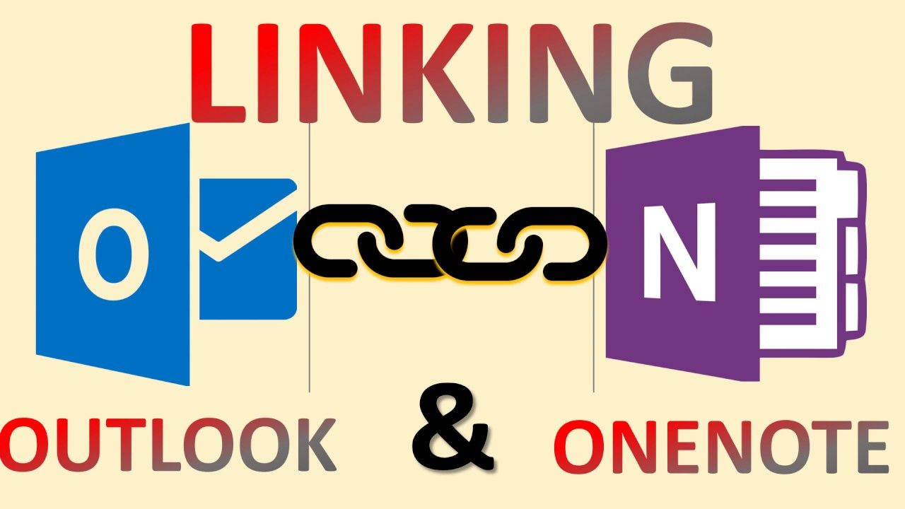 Make the connection between OneNote and Outlook YouTube