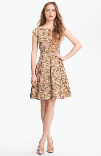 kate spade new york mariella cotton blend fit & flare dress available at Nordstrom