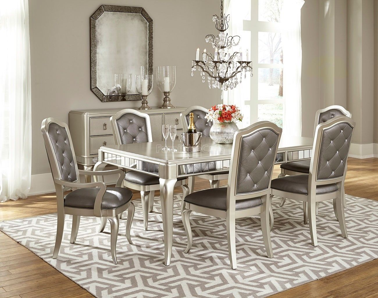 Diva Dining Room Set Samuel Lawrence Furniture Furniture