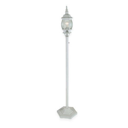 Royce Lighting Rl9196wt Outdoor Portable Post Lantern White With Clear Globe By Royce Lighting 125 87 F Lantern Post Outdoor Light Fixtures Outdoor Lanterns