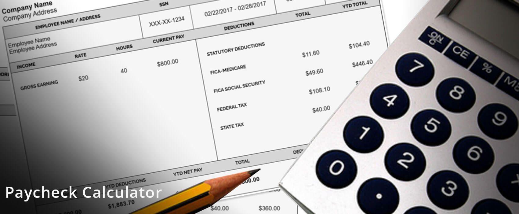 Paycheck calculator paycheck calculator payroll