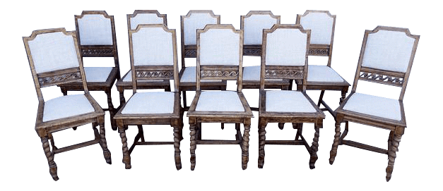Astonishing Antique Jacobean Style Barley Twist Reupholstered Straight Bralicious Painted Fabric Chair Ideas Braliciousco