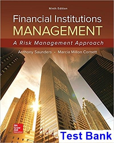 Financial institutions management a risk management approach 9th financial institutions management a risk management approach 9th edition saunders test bank test bank solutions manual exam bank quiz bank an fandeluxe Image collections