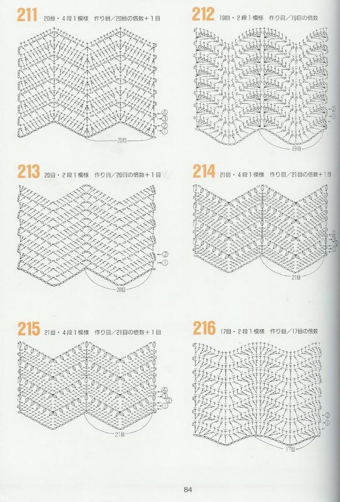 Háčkování vzory 262 --- háčkování grafiky - Basil - Basil blog ...