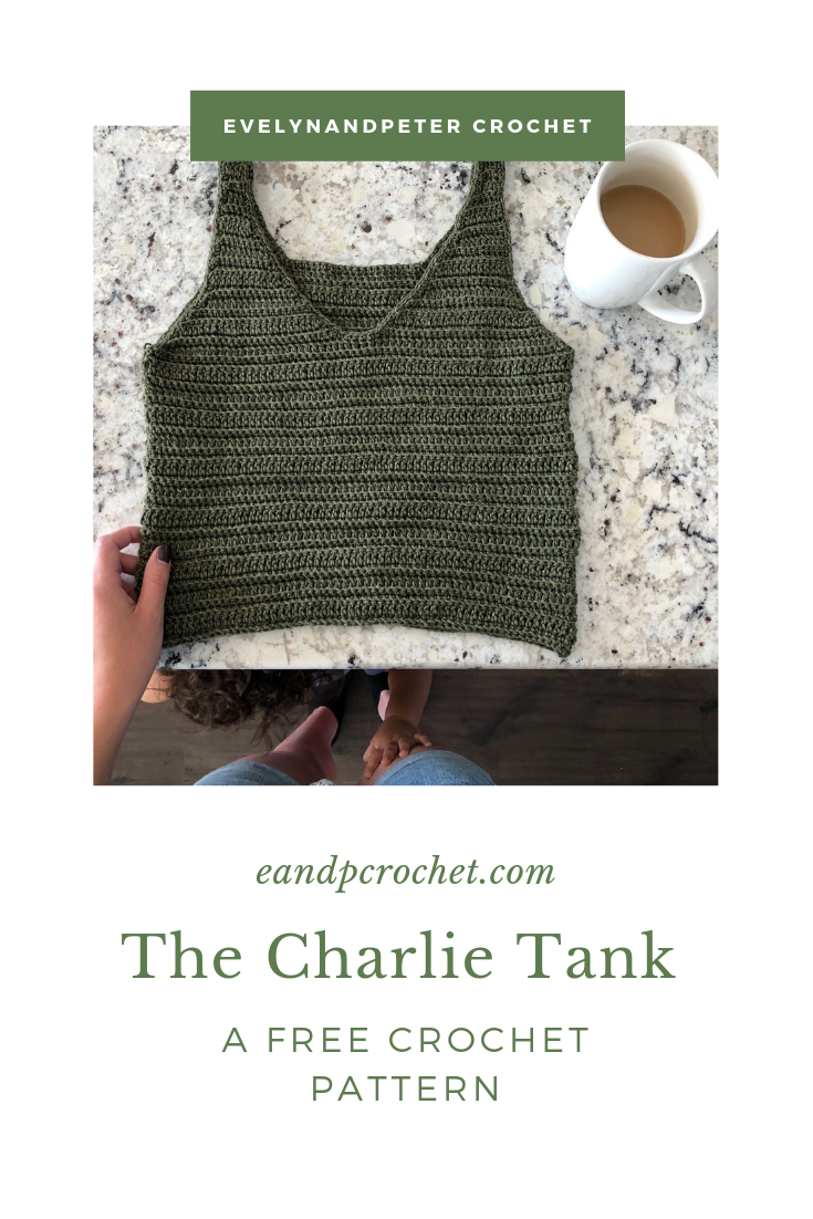 Crochet Pattern: The Charlie Tank