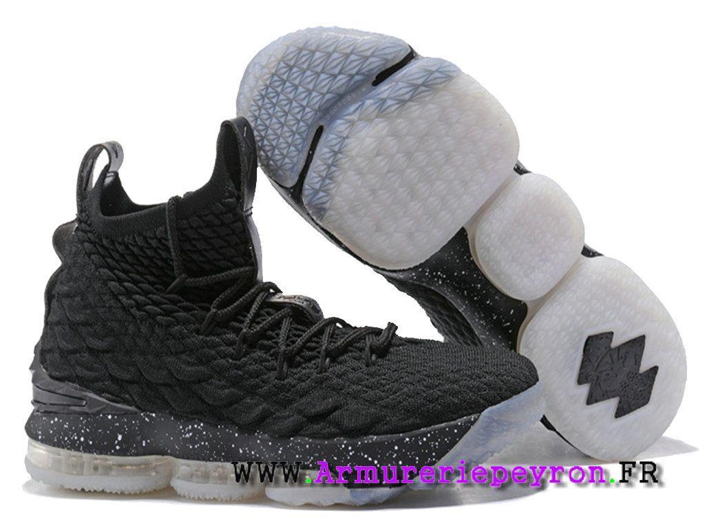 info for 6de60 af7a0 Nike LeBron 15XV Chaussures Nike Prix Pas Cher Pour Homme 2018 Basket Noir