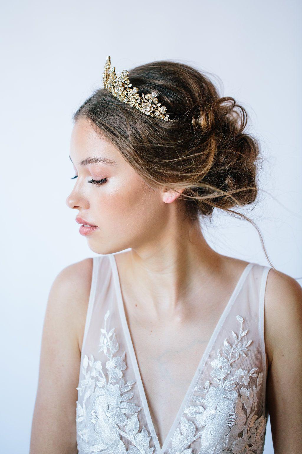 10 ways to rock a tiara on your wedding day | wedding tiara