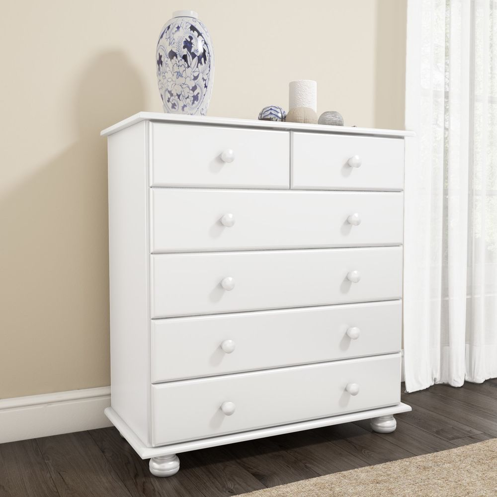 2 4 Drawer Chest Storage Cabinet Fresh White Painted Finish Bedroom Furniture Storage Solutions Bedroom Furniture Storage Drawers