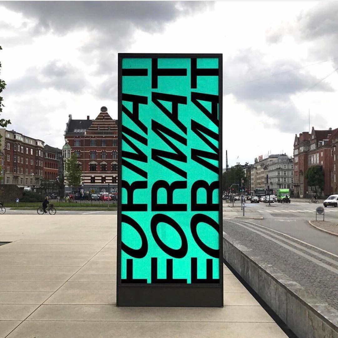 "Stylescape Graphic Design: Projektmono On Instagram: ""FORMAT Visual Identity Is"