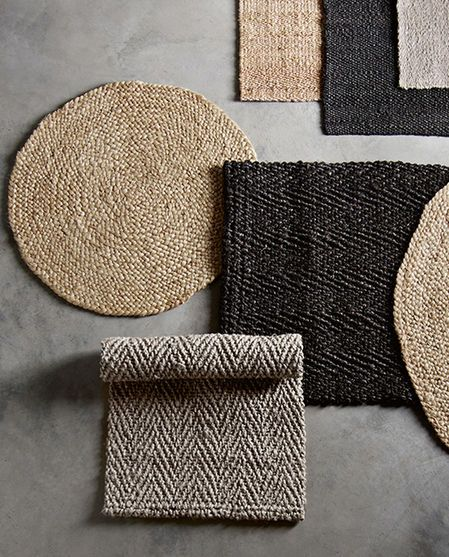 teppich jute rund natural von tinekhome deco textiles jute teppich teppich k che und. Black Bedroom Furniture Sets. Home Design Ideas