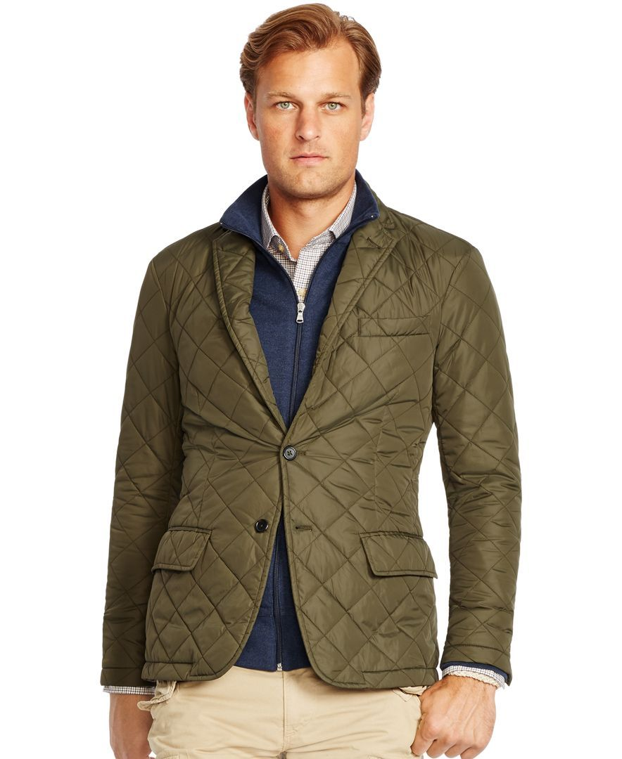 Polo Ralph Lauren Big and Tall Quilted Bomber Jacket | tall and ...