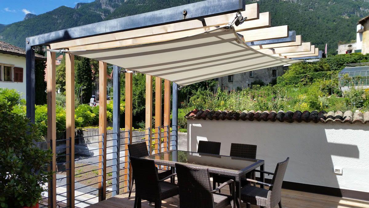 Saisonale Sonnensegel Flexibler Sonnenschutz Wetterschutz