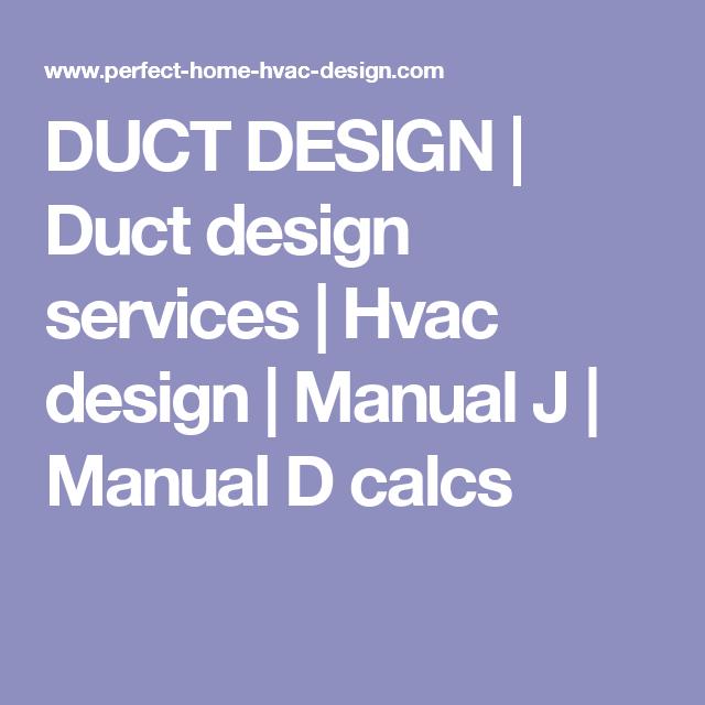 Duct Design