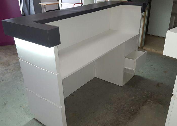 Mostradores recepci n mostradores mobl mostradores - Mostradores para oficinas ...