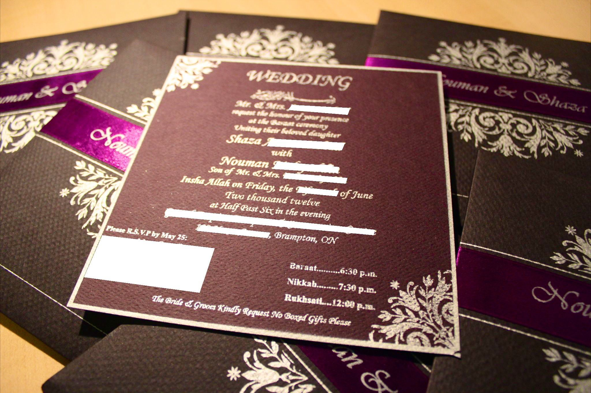 IMG_3062 Pakistani wedding invitations, Wedding