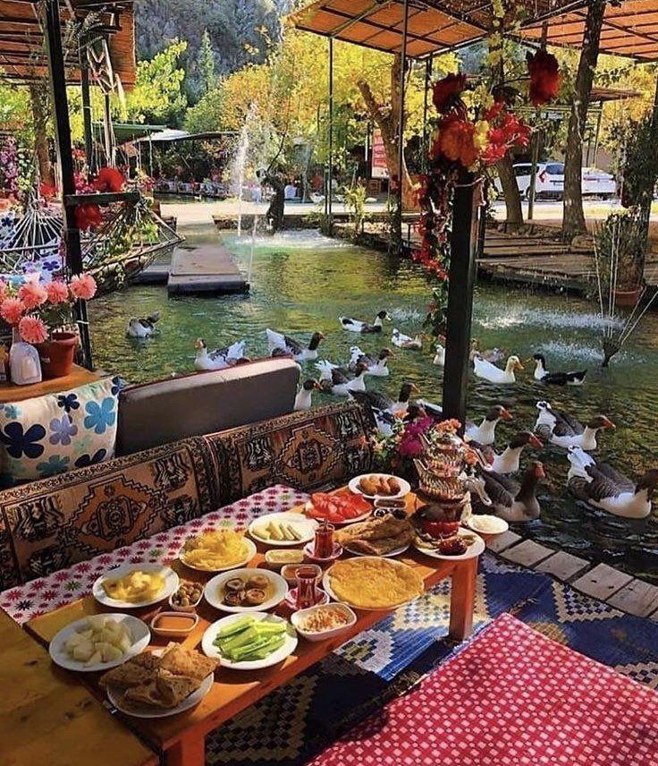 Good morning from Saklikent near Fethiye Turkey