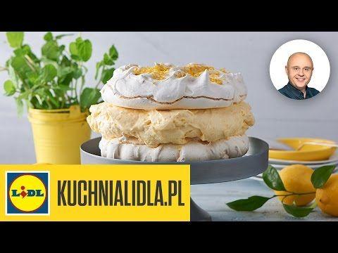 Bezowy Tort Cytrynowy Pawel Malecki Przepisy Kuchni Lidla Youtube