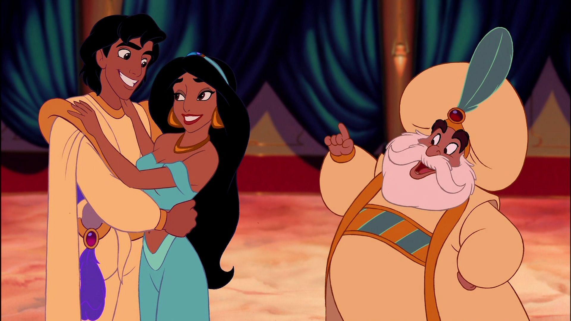 Sultan, happy about Jasmine's decision