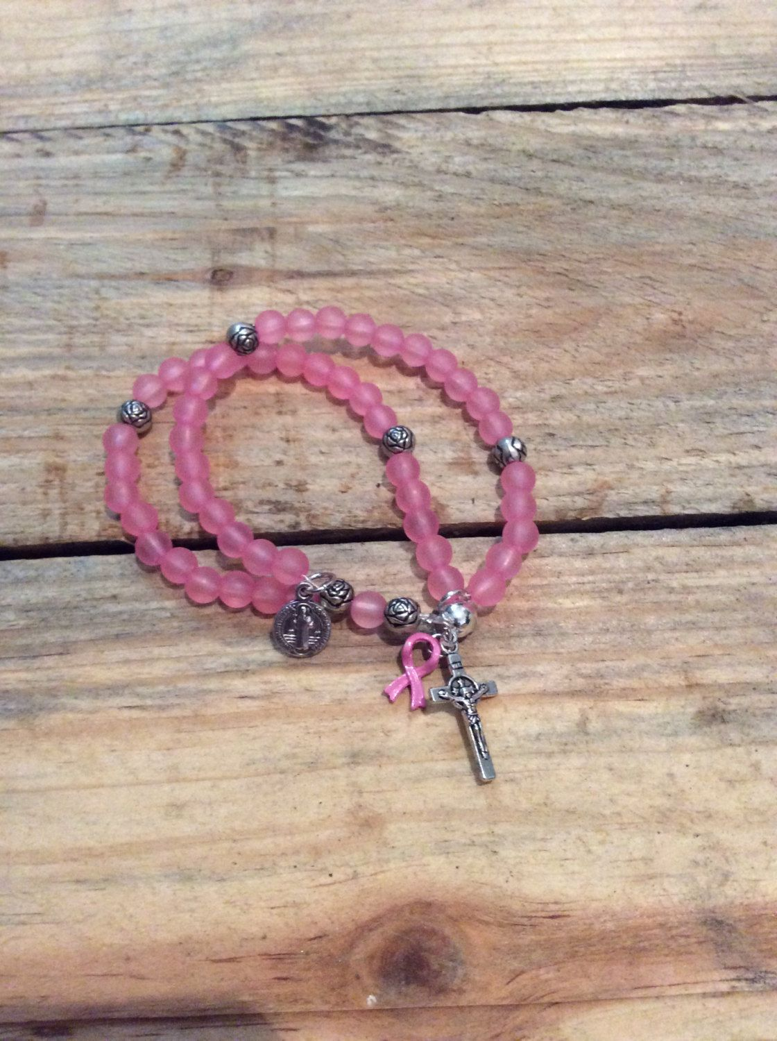 cancer pink bracelet Breast magnetic