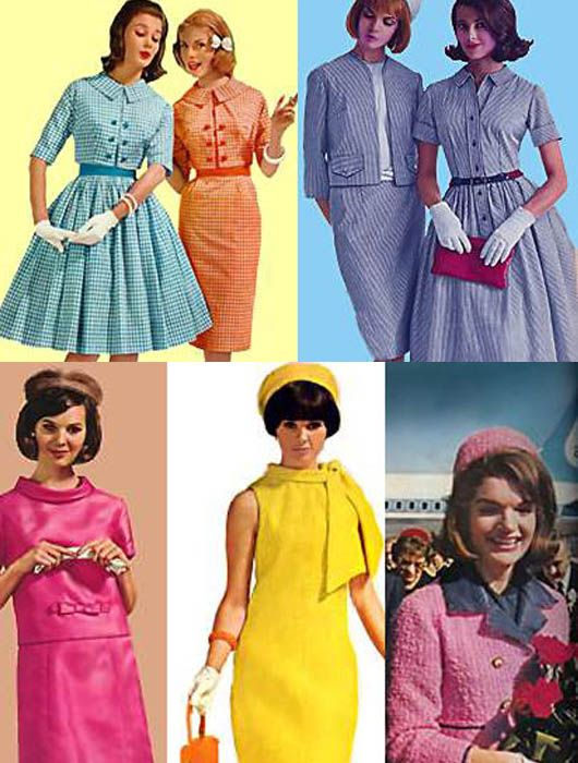 Aqui Vemos La Moda Y Tendencias De Los Años 60 En 2019