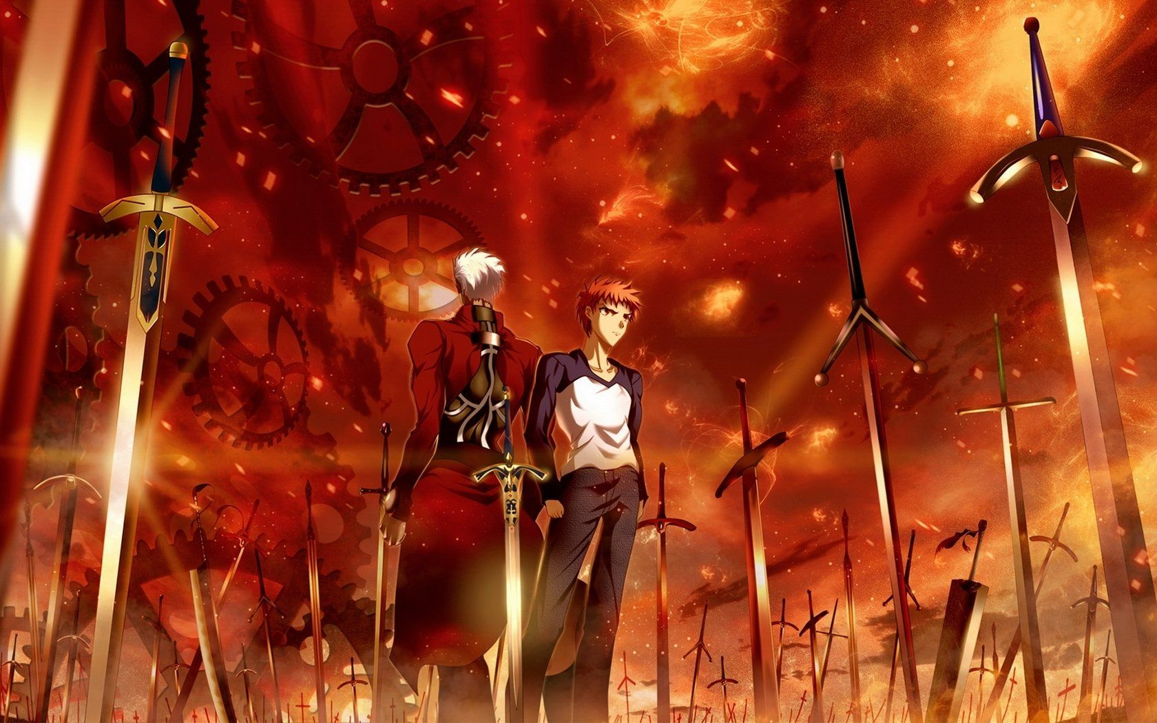 Anime Fate Stay Night Unlimited Blade Works Fate Stay Night