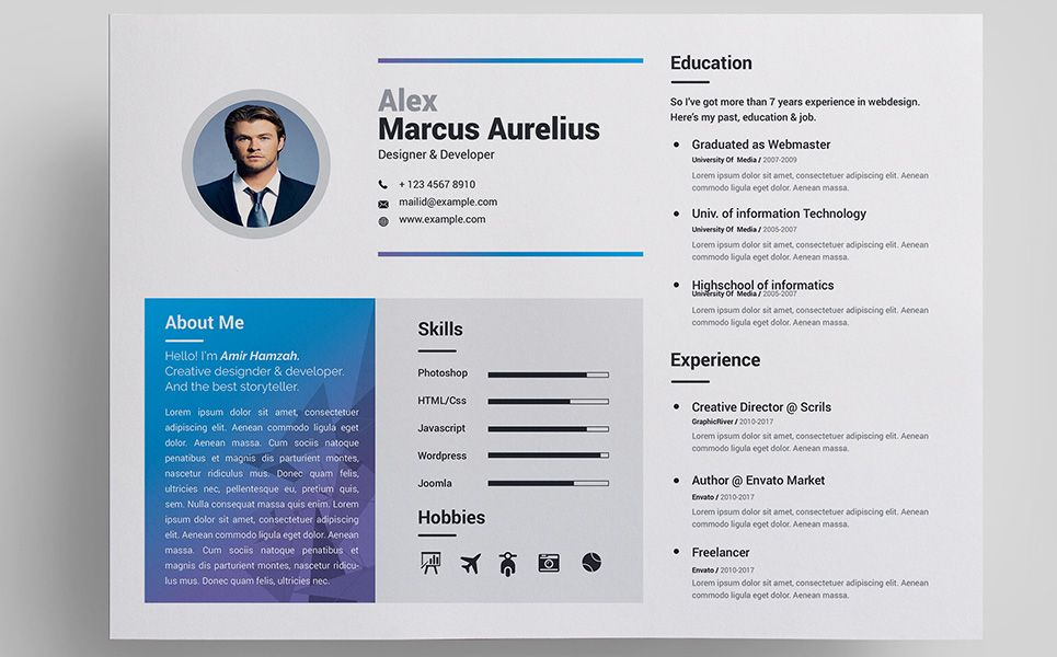 Marcus resume template resume marcus resume template