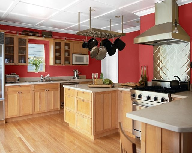 Sherwin Williams Red Tomato Red Kitchen Walls Kitchen Wall Colors Paint For Kitchen Walls