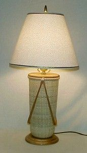 Simply Nantucket Baskets - Full Size Table Lamp Nantucket Basket