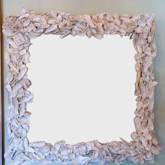 "34"" Square Shell Mirror slika"
