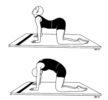 three simple yoga poses for relief from menstrual cramps