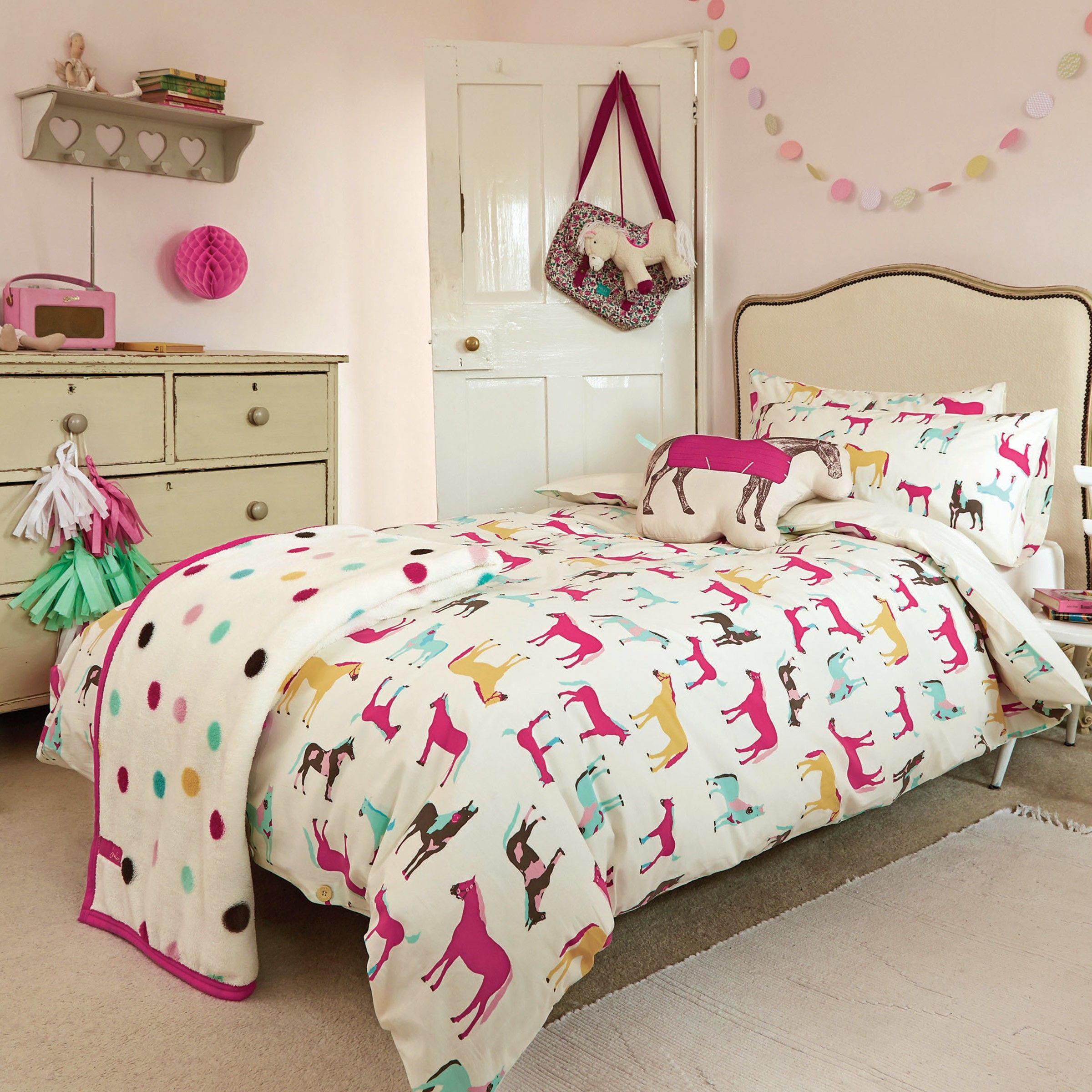 Horseplay is a new childrens bedding collection from Joules features a  lively horse print design. Horseplay Bedding by Joules   Sandra s house   Pinterest