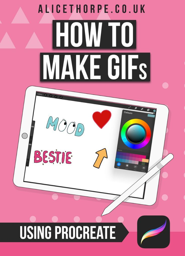 How to make gif in procreate procreate tutorial how to
