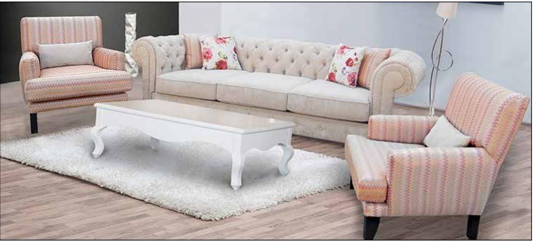Salon moderne – salon moderne beige – canapé – fauteuil – Milmeuble ...