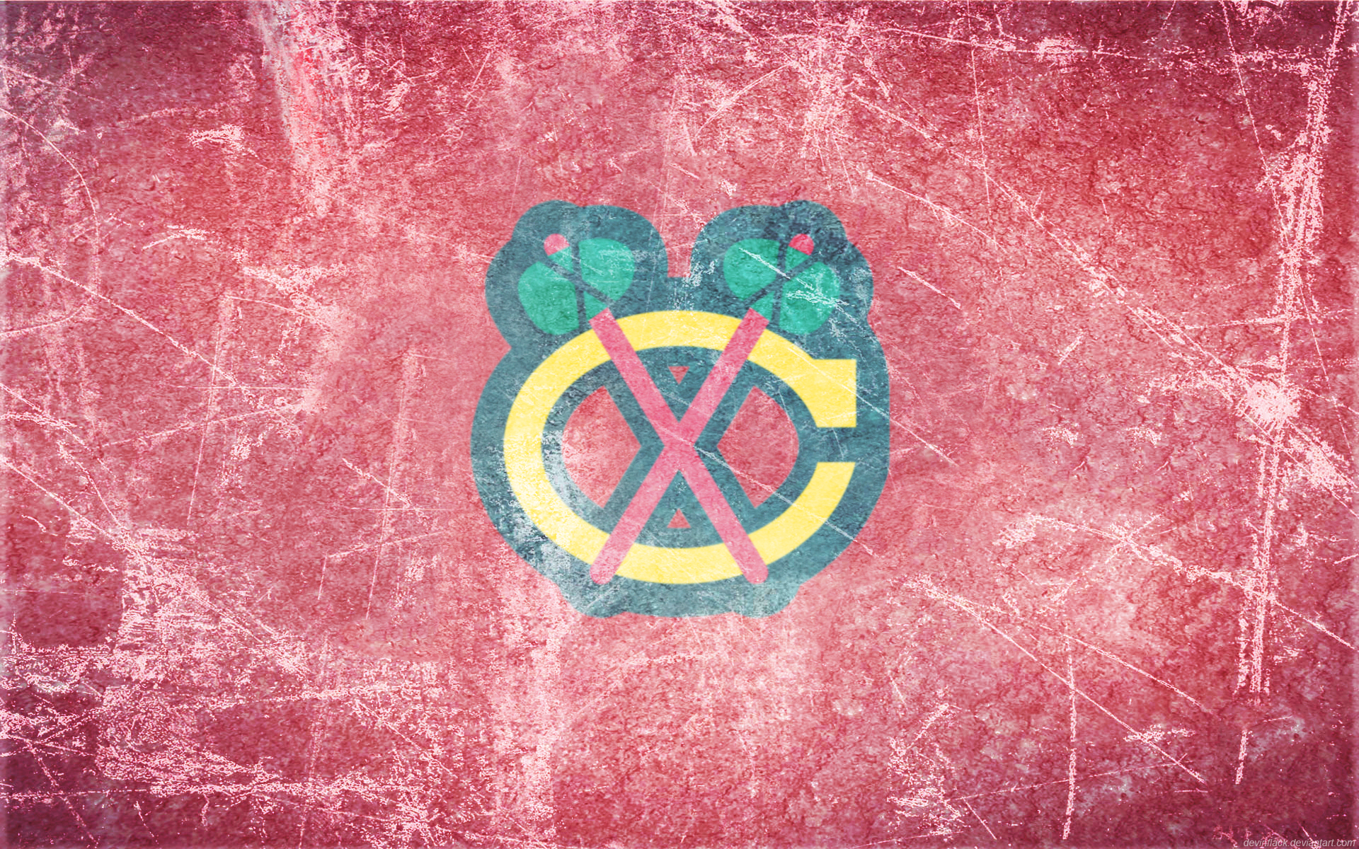 BlackHawks Ice Logo Sports wallpapers, Chicago