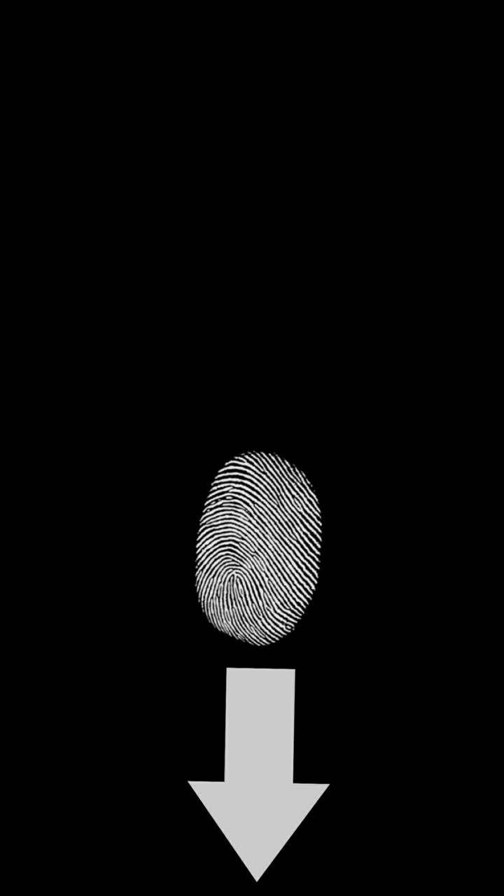 Download Fingerprint Black Wallpaper By Sker83 3a Free On