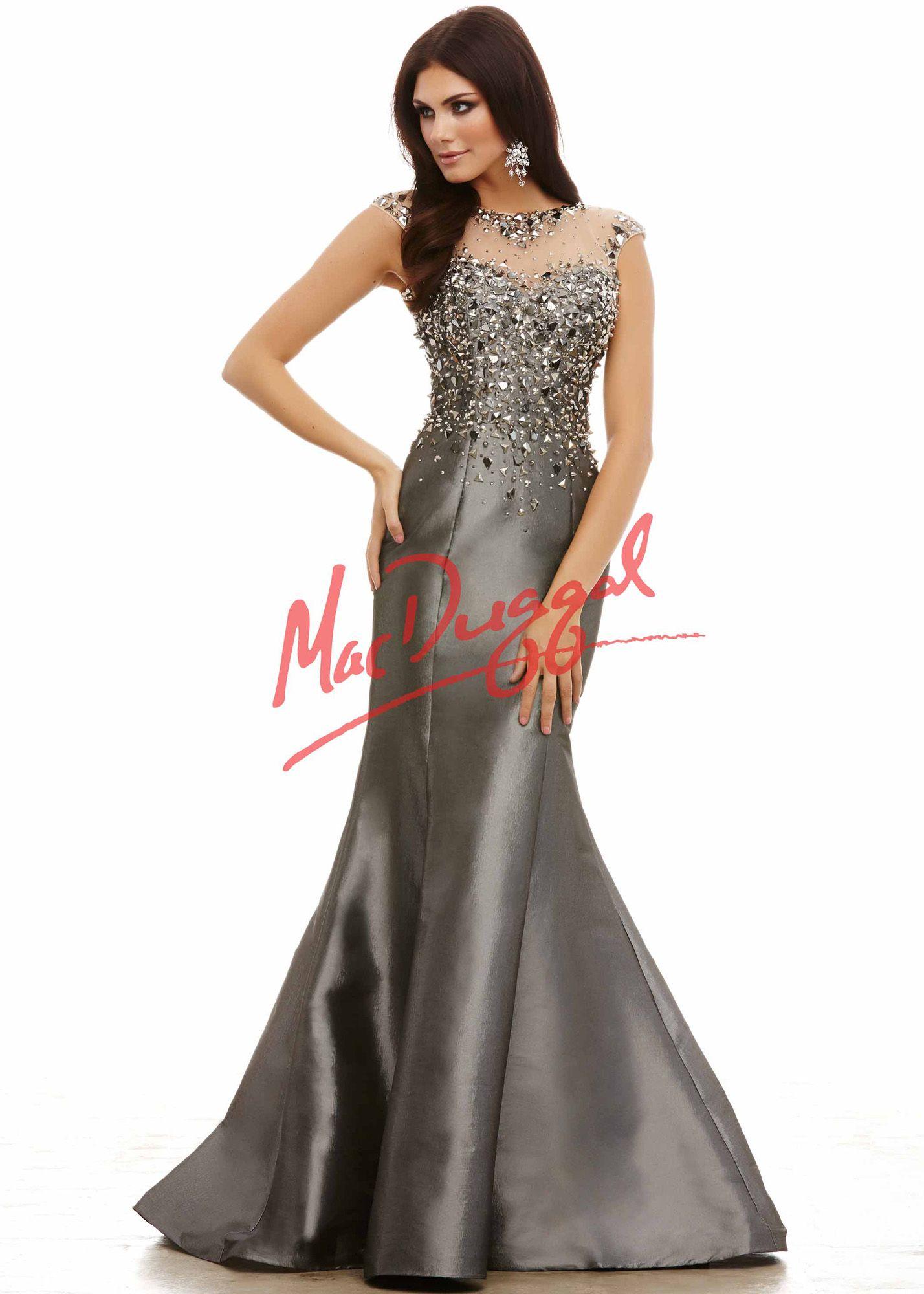 80a4de2de8d Cassandra Stone by Mac Duggal 82386 Glamorous Mermaid Gown - Gorgeous MOB  Dress - Stunning Pageant Gown