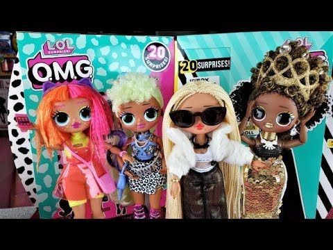 New Lol Surprise Omg Fashion Dolls 2019 Makeover And Boxy